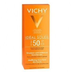 Vichy Idéal Soleil Emulsión tacto seco SPF50+ 50ml