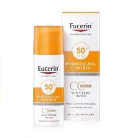 Eucerin Sun Cc Creme Photoaging Control Spf50+ 50ml