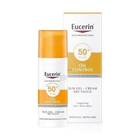 Eucerin® oil control Toque seco SPF50+ sun gel crema 50ml
