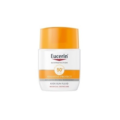 Eucerin Sun Fluido Infantil Sensitive Protect Spf 50+ 50ml