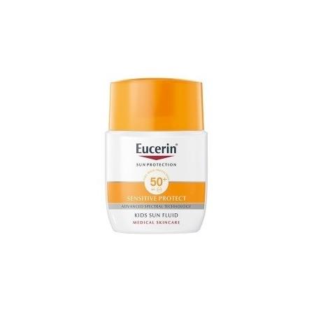 Eucerin Sun Fluido Infantil Sensitive Protect Spf 50+ 50ml