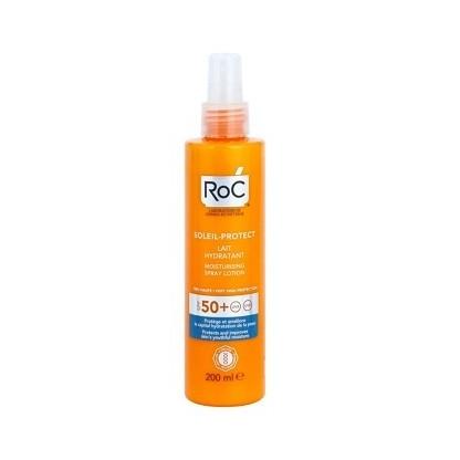 RoC Soleil-Protect Leche Hidratante SPF 50 spray 200 ml