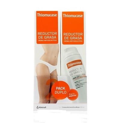 Thiomucase Duplo  reductora y anticelulitis crema 200ml+200ml