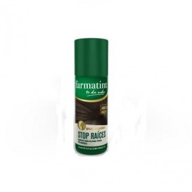 Farmatint Spray Stop Raices Castaño oscuro 75 ml
