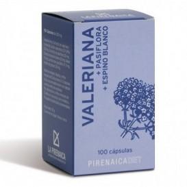 La Pirenaica Valeriana + Pasiflora+espino Blanco 100 Caps.