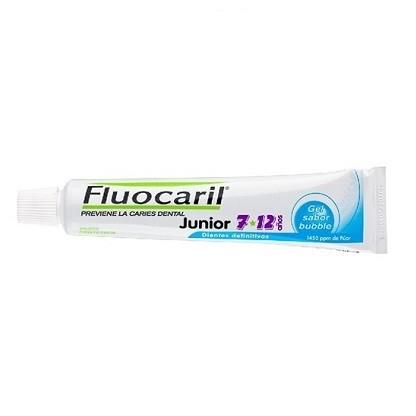 Fluocaril® Junior gel dentífrico sabor chicle 50ml