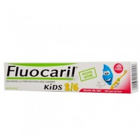 Fluocaril® Kids pasta dental sabor fresa 50ml