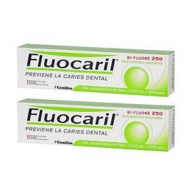 Fluocaril® Duplo Bi-Fluoré 250- pasta dentífrica 2x125ml