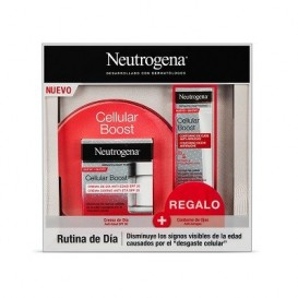 Neutrogena Pack  Cellular Boost Crema Dia 50ml  + Contorno de ojos 15ml