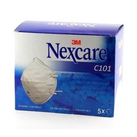 Mascarilla Nexcare C101 3M 5uds