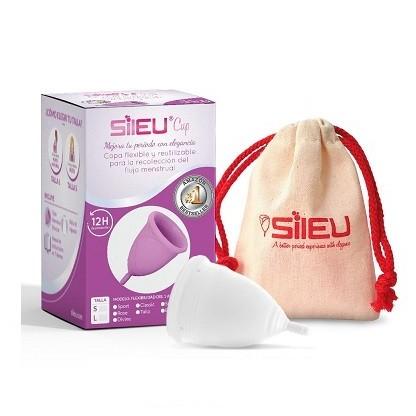 Sileu Soft copa menstrual transparente S 1und