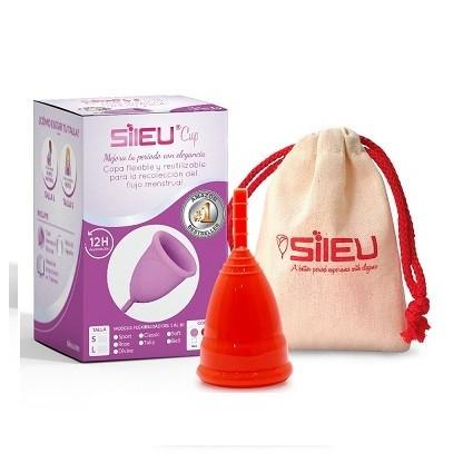 Sileu Sport copa menstrual transparente S 1und
