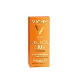 Vichy Ideal Soleil SPF 30 Emulsión Tacto Seco 50ml
