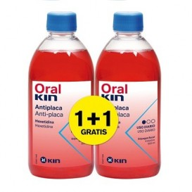 Kin Oralkin enjuague bucal Duplo 500+500ml