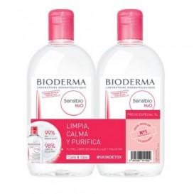 Bioderma Pack Agua micelar sensibio H2O 500+500ml