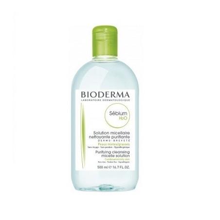 Bioderma Sébium H2O Agua Micelar 500ml
