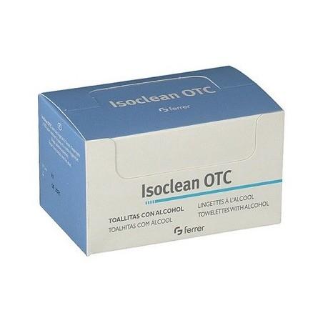 OTC Isoclean toallitas alcohol desinfectante 50uds