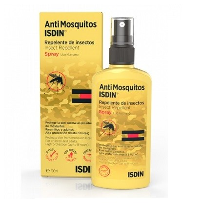 Isdin AntiMosquitos Repelente de insectos Spray 100ml