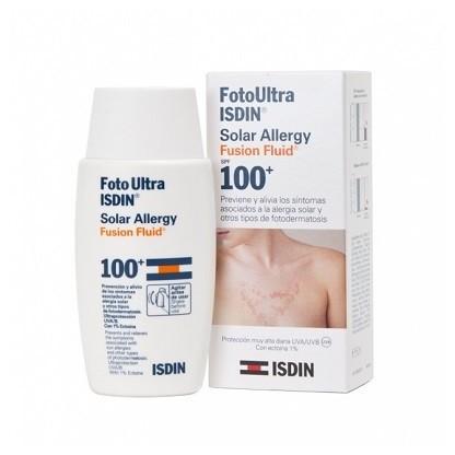 Isdin FotoUltra Solar Spf 100+ Allergy Fusion Fluid  50ml