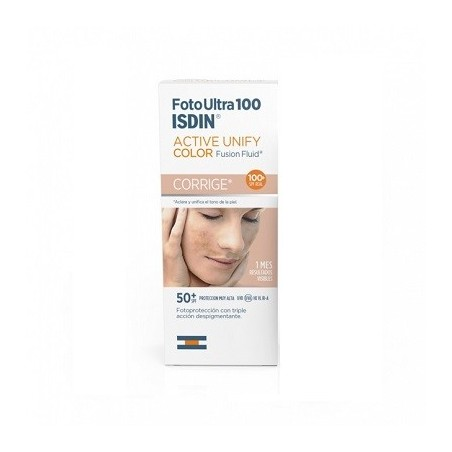 Isdin FotoUltra 100 Active Unify Spf 50+Fusion Fluid 50ml