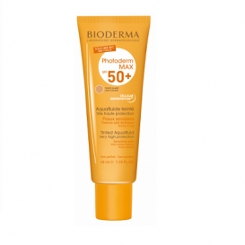 Bioderma Photoderm MAX Spf 50+ Aquafluide Color Claro 40ml