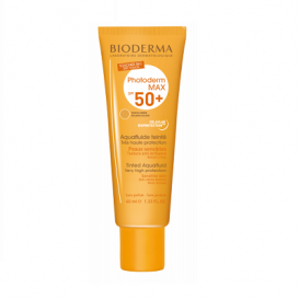 Bioderma Photoderm MAX Spf 50+ Aquafluide Color Dorado 40ml