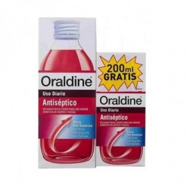 Oraldine Pack colutorio antiséptico 400 ml + 200 ml