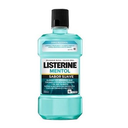 Listerine Mentol Sabor Suave 500ml