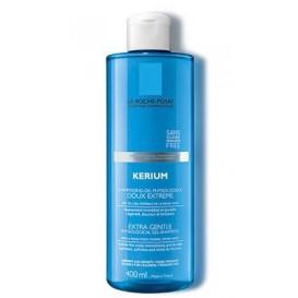 La roche posay kerium doux gel champu uso frecuente 400 ml