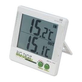 Termometro de ambiente max min 50+70 con sonda