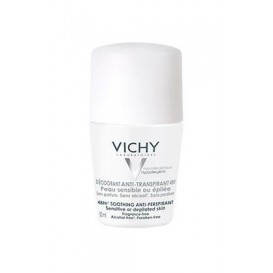 Vichy desodorante roll on pieles sensibles o depiladas 50ml