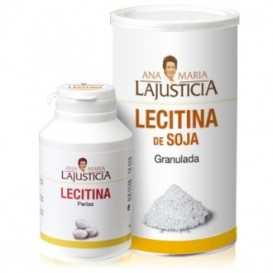 Lajusticia lecitina de soja granulado 500gr