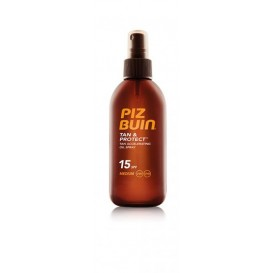 Piz buin tan & protect aceite en spray acelerador del bronceado fps 15 proteccion media 150ml