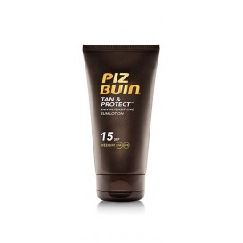 Piz buin tan & protect locion intensificadora del bronceado fps 15 proteccion media 150ml