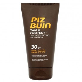 Piz buin tan & protect locion intensificadora del bronceado fps 30 proteccion media 150ml