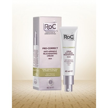 Roc pro correct crema antiarrugas rejuvenecedora 40ml