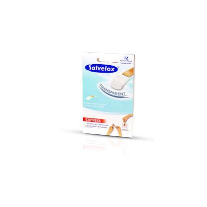 Salvelox Apositos Transparentes Resistentes Al Agua 12 unidades