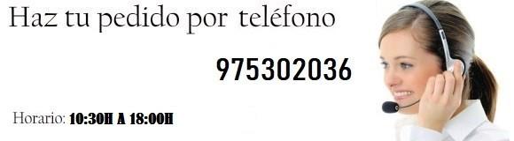 Haz tu pedido por telefono